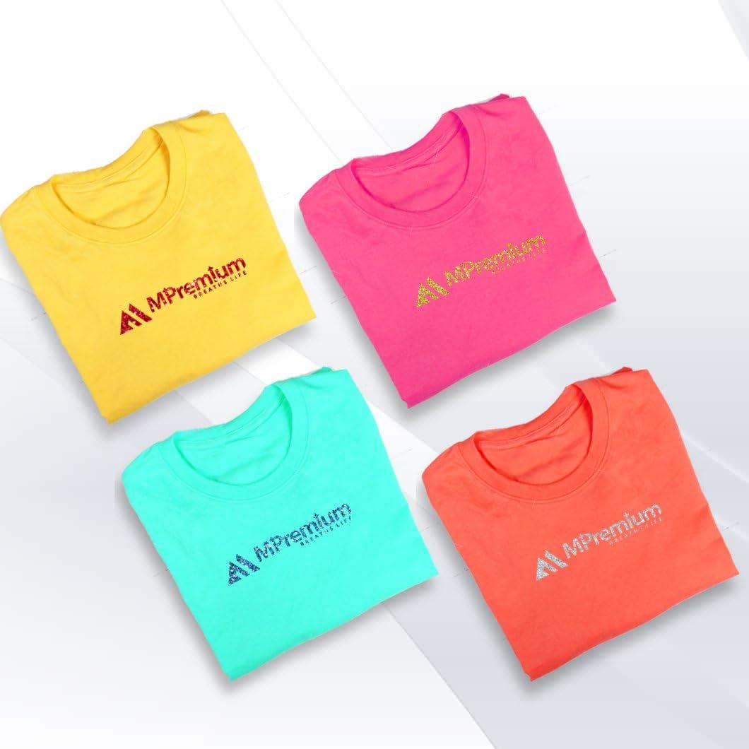 MiPremium Glitter Red Heat Transfer Vinyl HTV for T Shirts Sports Clothing Glitter Red Glitter Iron On Vinyl Easy Weed /& Press Glitter HTV Vinyl Garments /& Fabrics Pack of 4 Sheets
