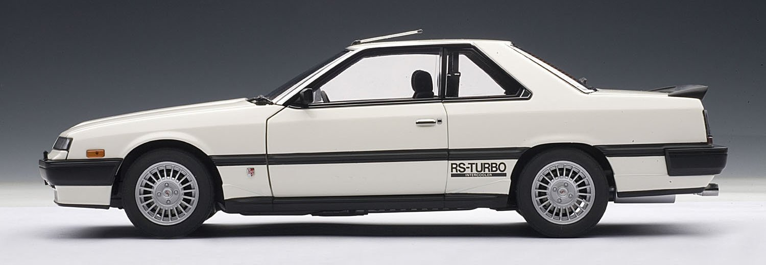 Amazon.com: Nissan Skyline 2000 Turbo Intercooler RS-X (DR30) White 1/18 Autoart: Toys & Games