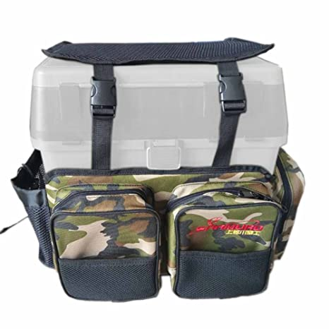 b0ae7004ca2f Amazon.com : POPPAP Fishing Tackle Bag, Camouflage Color Shoulder ...