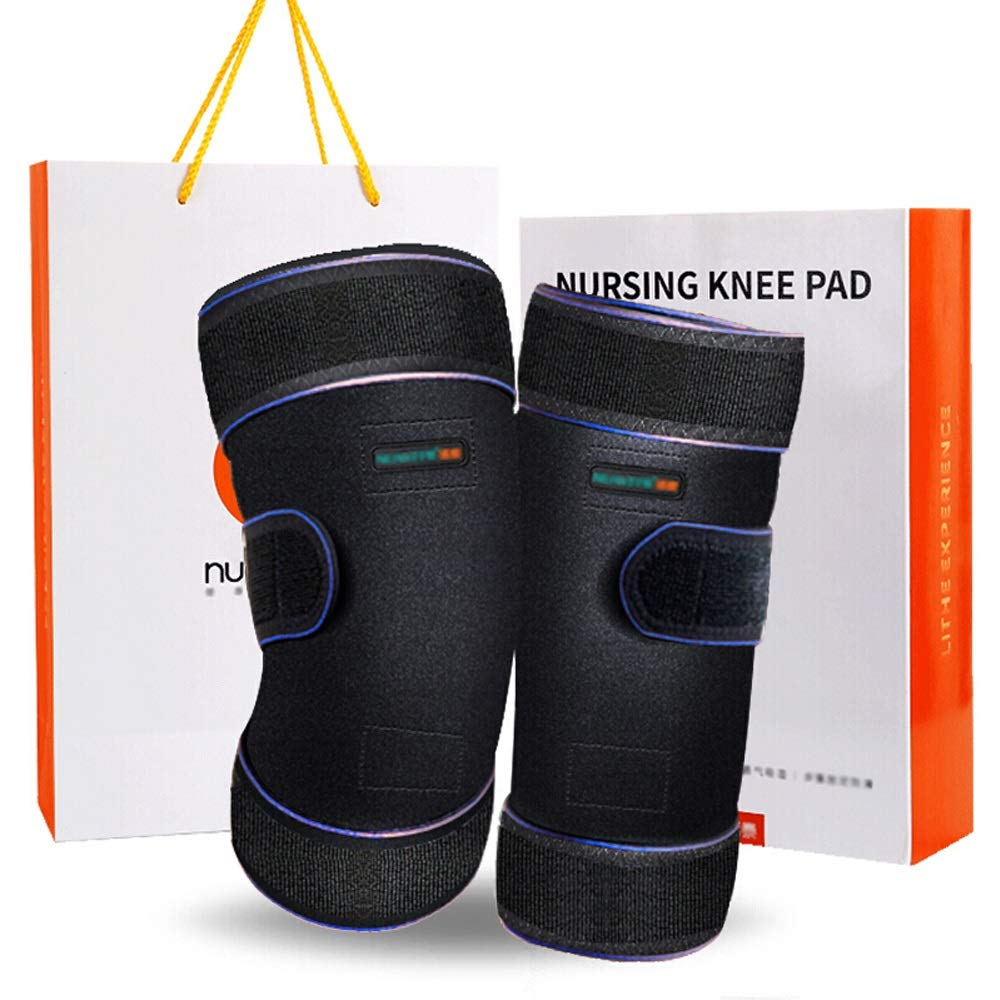 TY BEI Kneepad Kneepad Self-Heating Warm Breathable Old Cold Leg Knee Protection Joint - Two Colors Optional @@ (Color : B) by TY BEI (Image #2)