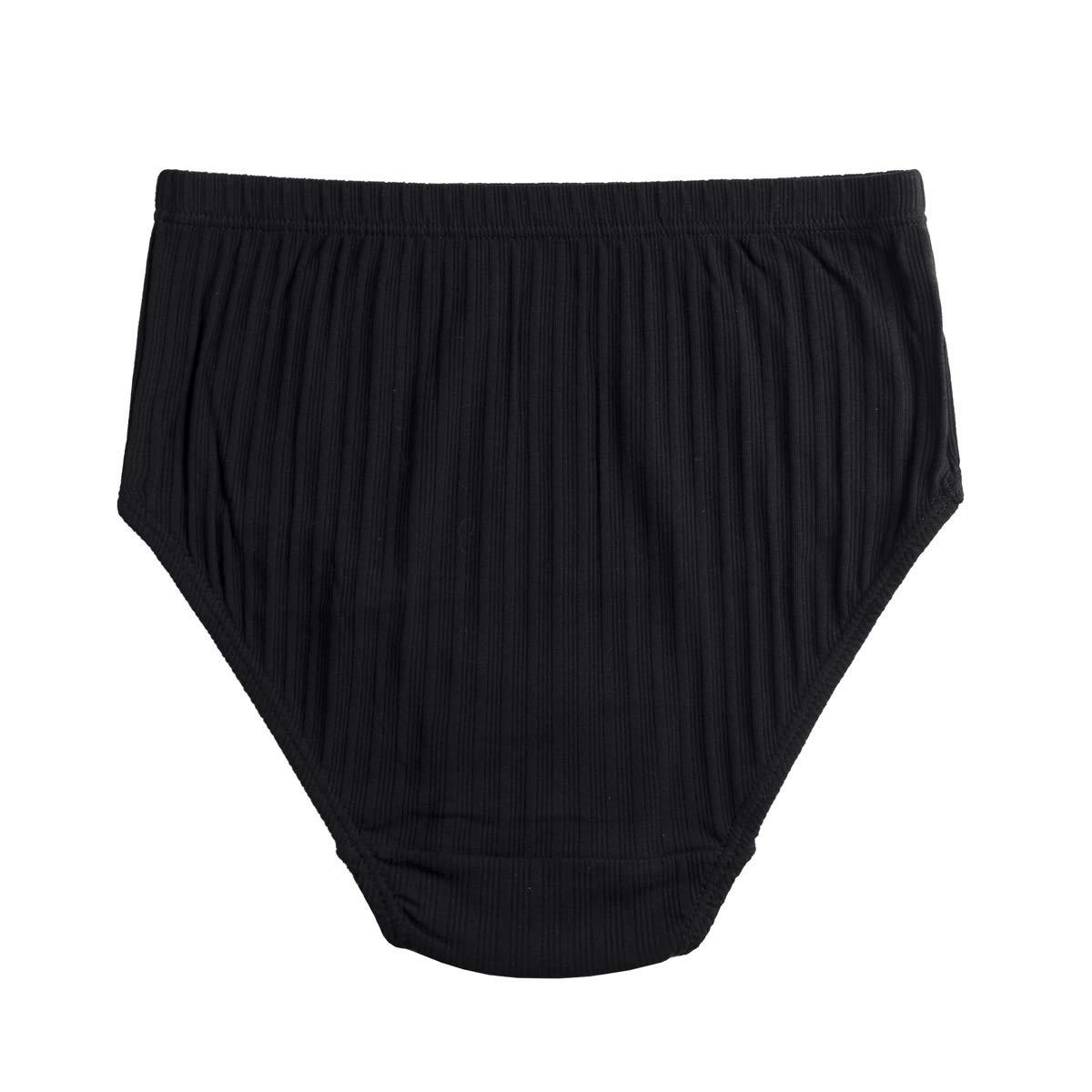cc7459ecffb Knitlord Women's Plus Size Underwear Cotton 6 Pack Comfort Briefs Panties  (XL, Black 6pk): Amazon.ca: Clothing & Accessories