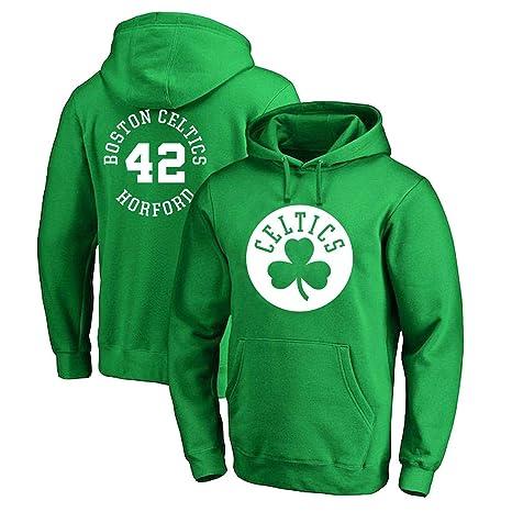 CCKWX Hombres Camiseta De Brooklyn Boston Celtics 42# Horford ...