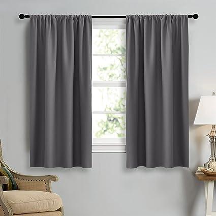 Dark Grey Curtains Bedroom Gray Black And Walls Stylish Best ...
