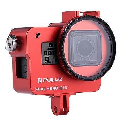 Buolo - Carcasa para GoPro Hero 6/5 CNC (Aleación de ...
