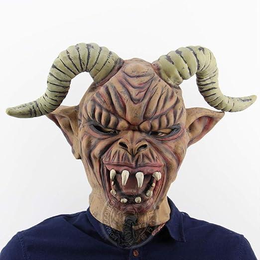 ZhuYiCheng Monstruo del Cuerno de la Oveja Todo Santo Tonto día ...