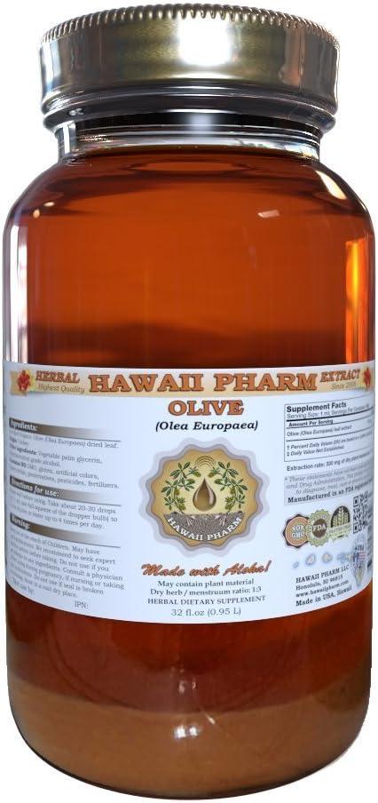 Olive Olea europaea Liquid Extract 32 oz