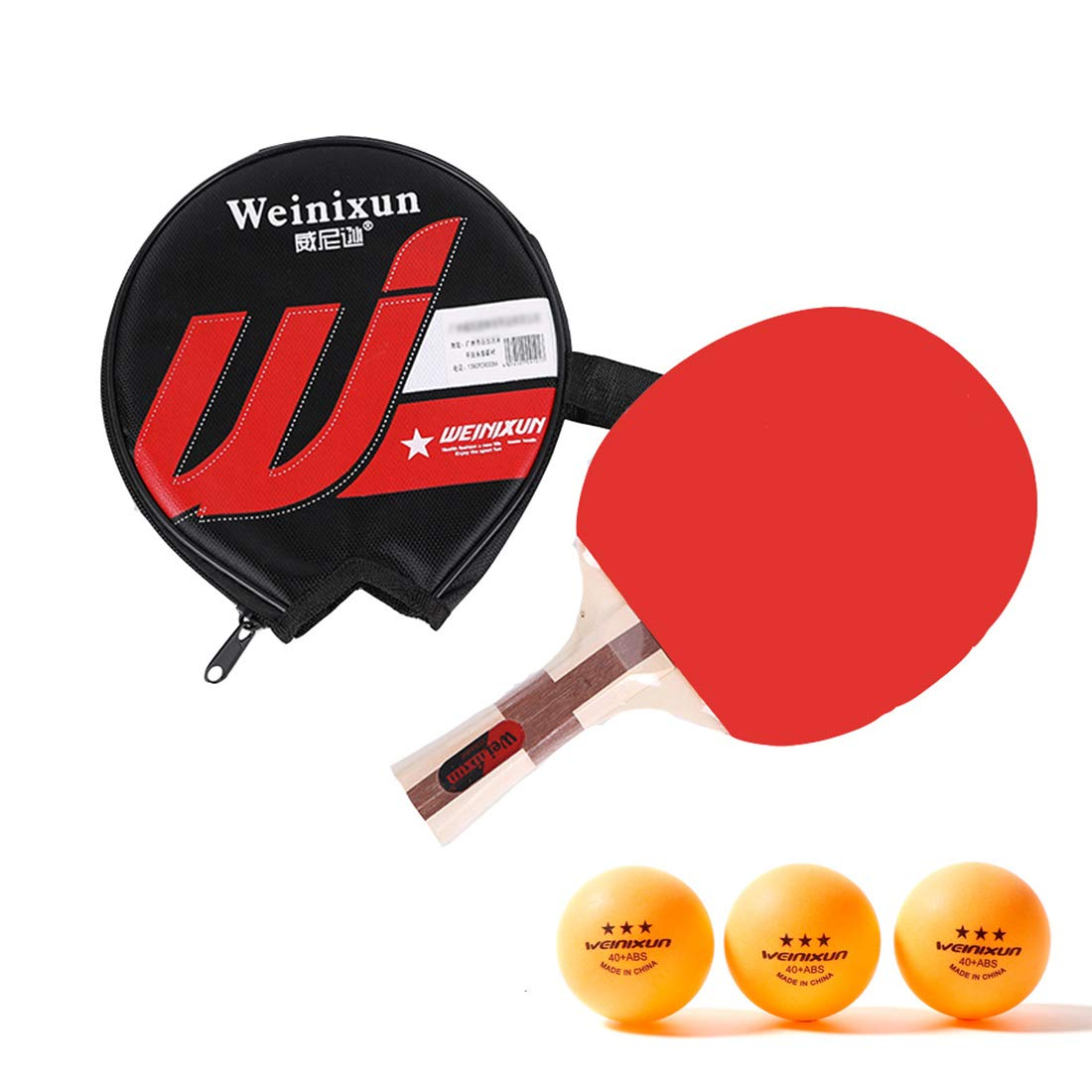 YUYAXQP PortátilPala De Ping Pong Juego De Tenis De Mesa para El ...