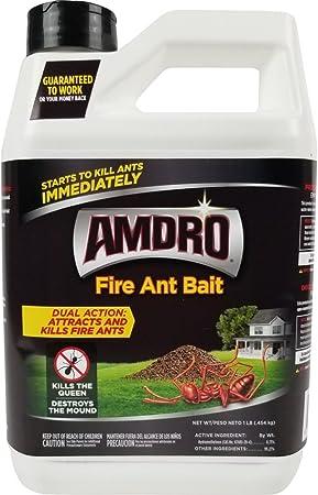 Amazon Com Amdro Fire Ant Bait Granules 1 Pound Home Pest Lures Garden Outdoor