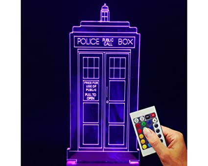 Doctor who decorative lamp police box 3d hologram illusion doctor who decorative lamp police box 3d hologram illusion mozeypictures Gallery