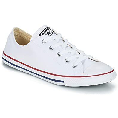 556a96fbfd54 Image Unavailable. Image not available for. Color  Converse Chuck Taylorr  All Starr Dainty Ox ...