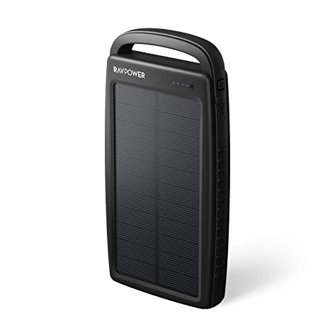 Amazon.com: Solar Powerbank 20000 mAh Negro & Amarillo ...