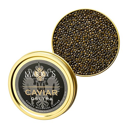 (Fresh Farmed Osetra Golani Caviar - 1 oz )