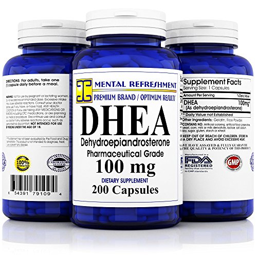 Pure DHEA Strength Capsules Metabolism product image