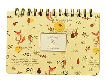 Lovely Coil Agenda Libro Semanal Planificador Plan Cuaderno ...