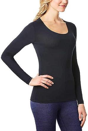 32Degrees - Camiseta térmica con cuello redondo para mujer: Amazon.es: Ropa y accesorios