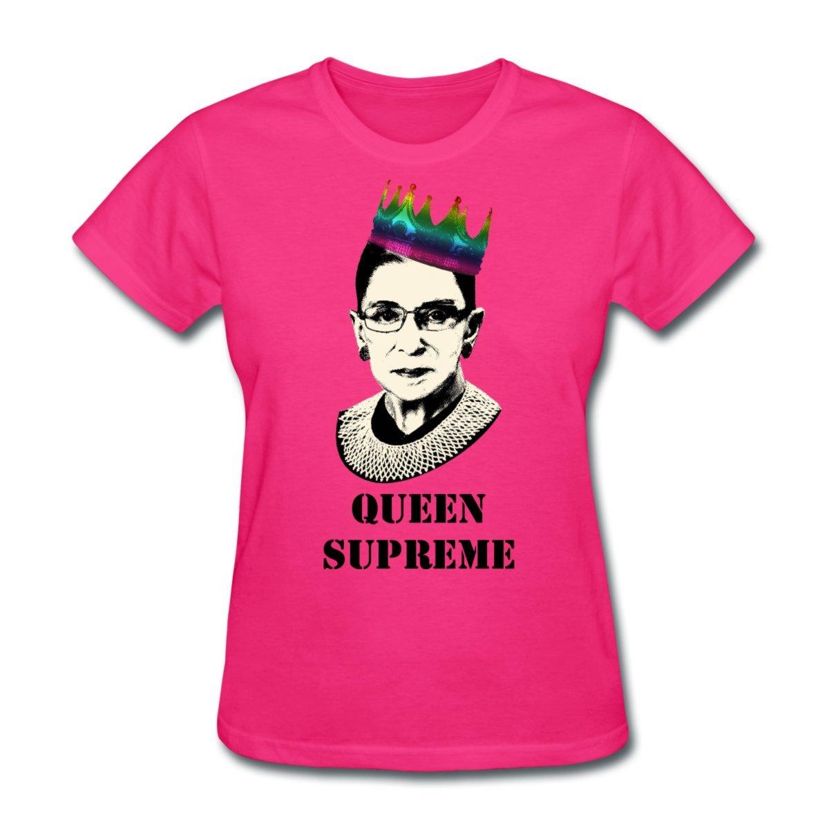 Amazon Spreadshirt Queen Supreme Notorious Rbg Womens T Shirt