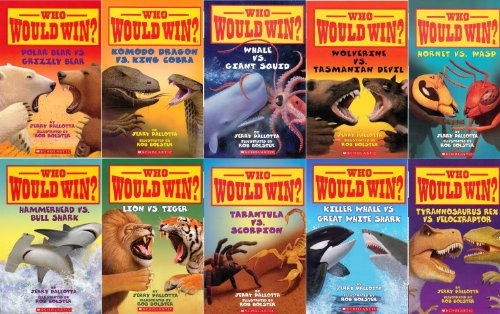Who Would Win? Series Complete 10 Book Set with Wasp Vs Hornet and Nine More Titles (See Description for Titles Included) (Who Would Win?)