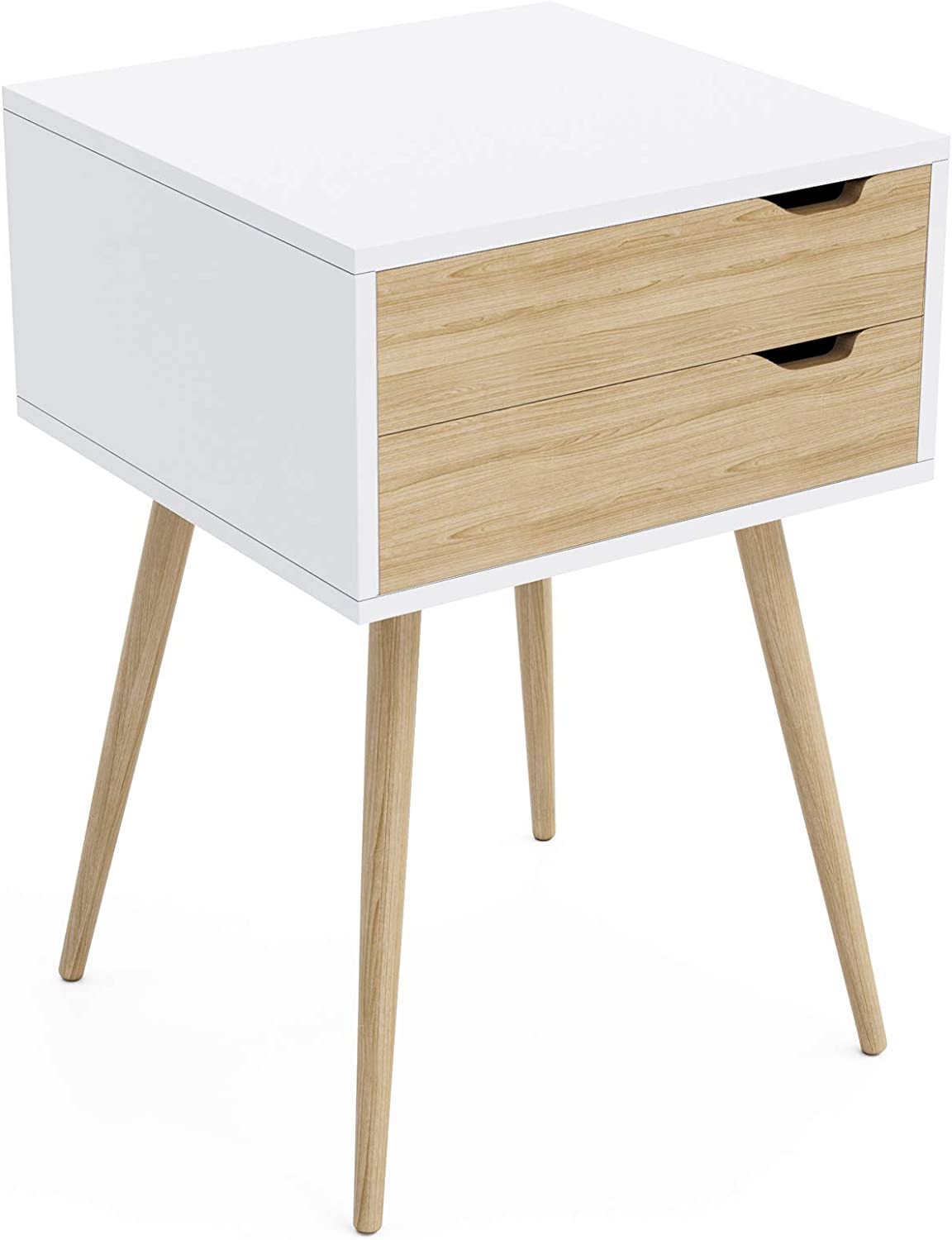 Jamesdar Blythe 2-Drawer Side Table, 15.7