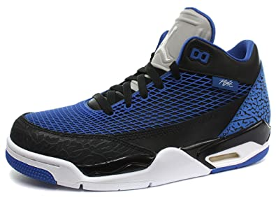a393a790644d9f Image Unavailable. Image not available for. Colour  Nike Air Jordan Flight  Club 80 s Black Blue Mens Basketball Shoes ...