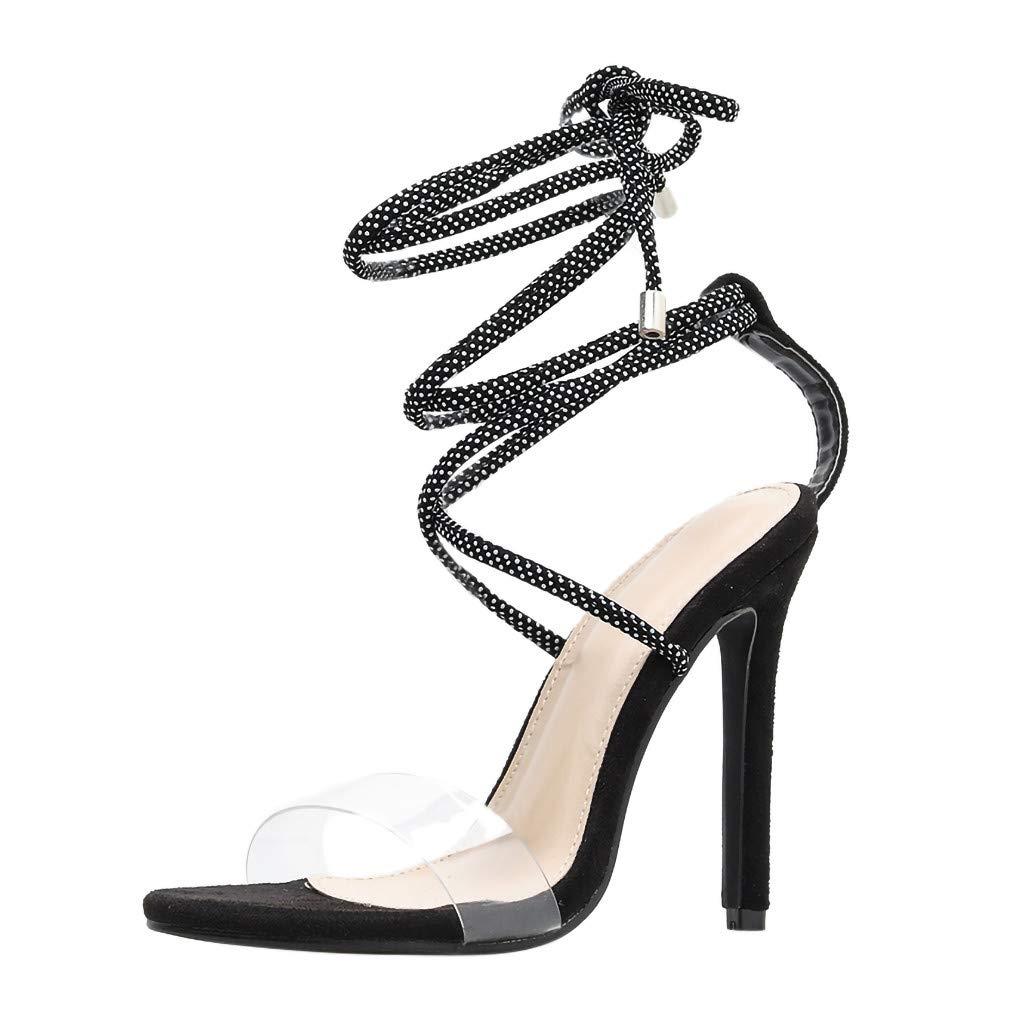 Darringls_Sandalias de Primavera Verano Mujer,Sandalias de Verano Flip-Flop Zapatos Estilo de Moda Sandalias Planas Impermeables del Vendaje Sandals: ...