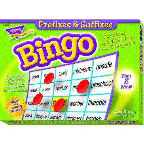 【逸品】 Trend 6 Enterprises Inc. Enterprises PREFIXES ビンゴゲーム & SUFFIXES ビンゴゲーム T-6140 B00QFX9VD8 6, 小山町:aa3b3421 --- vietnox.com