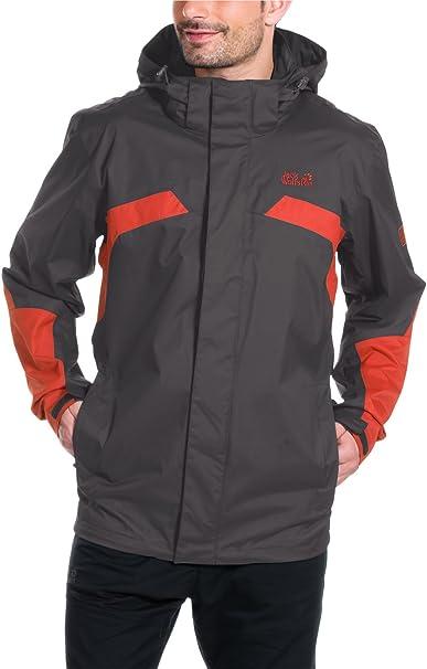 Jack Wolfskin Men's Topaz II Weatherproof Jacket Black XXX