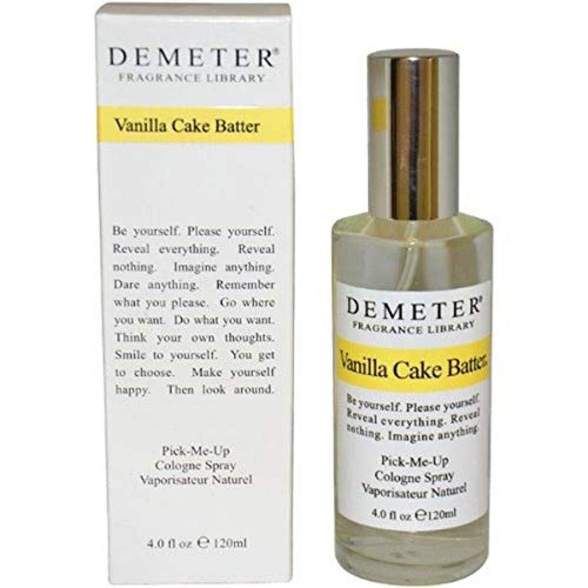 Vanilla Cake Batter Women Cologne Spray by Demeter, 4 Ounce