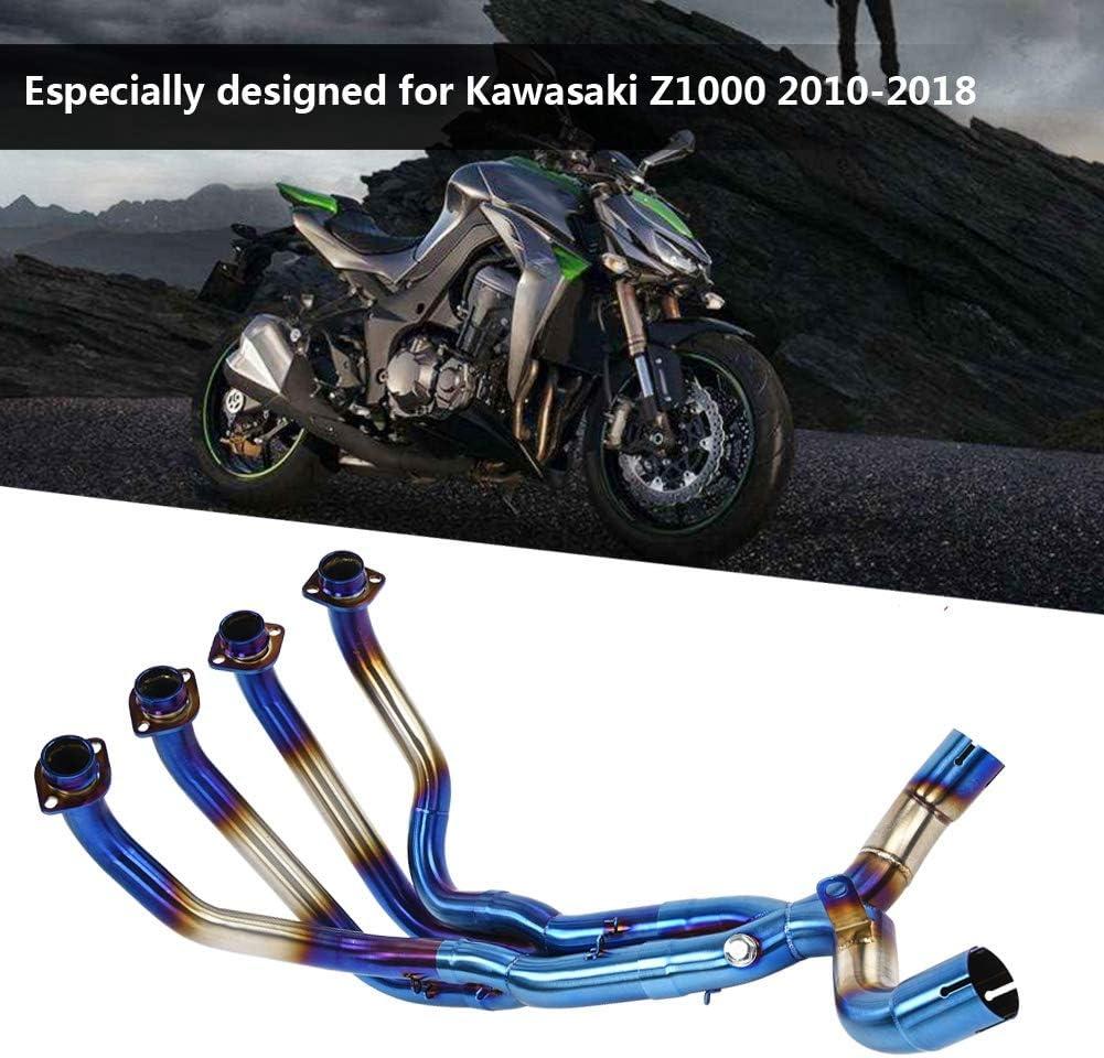 JFG RACING Collettore di Scarico Anteriore per Moto Kawasaki Z900 2017-2018