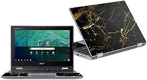 MightySkins Carbon Fiber Skin for Acer Chromebook Spin 11