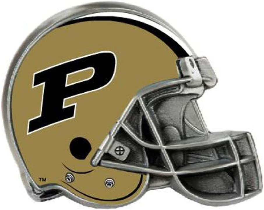 Black Great American Products NCAA Purdue Boilermakers Hitch Cover Helmet One Size
