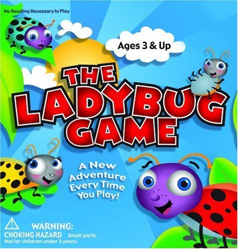 The Lady Bug Game - Award Winning, Kids Board Game – A Super Fun, Educational Game Your Kids Will Love.  Easy to Play & Perfect For- Travel, Home, Parties, Gifts Stocking Stuffs