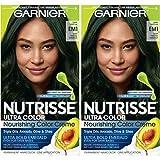 Garnier Hair Color Nutrisse ultra color nourishing hair color creme, Dark Matcha Em1