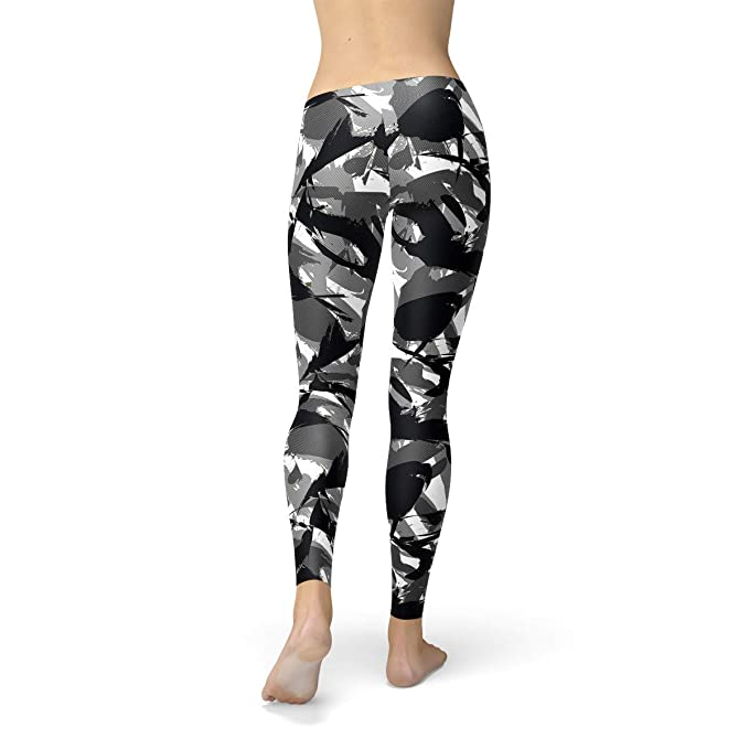 1fa085fc327b4 Camo Leggings for Women Military Urban Camouflage Print Squat Proof Workout  Pants at Amazon Women's Clothing store: