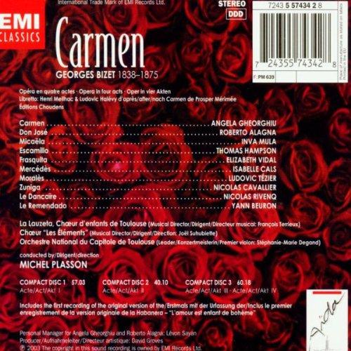Bizet - Carmen / Gheorghiu · Alagna · Capitole de Toulouse · Plasson by EMI Classics