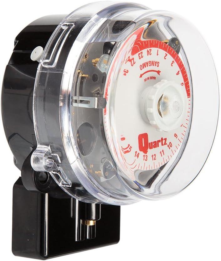 Sangamo Q554.2 20amp 3pin Base 24hour Day Omit Quartz Time Switch