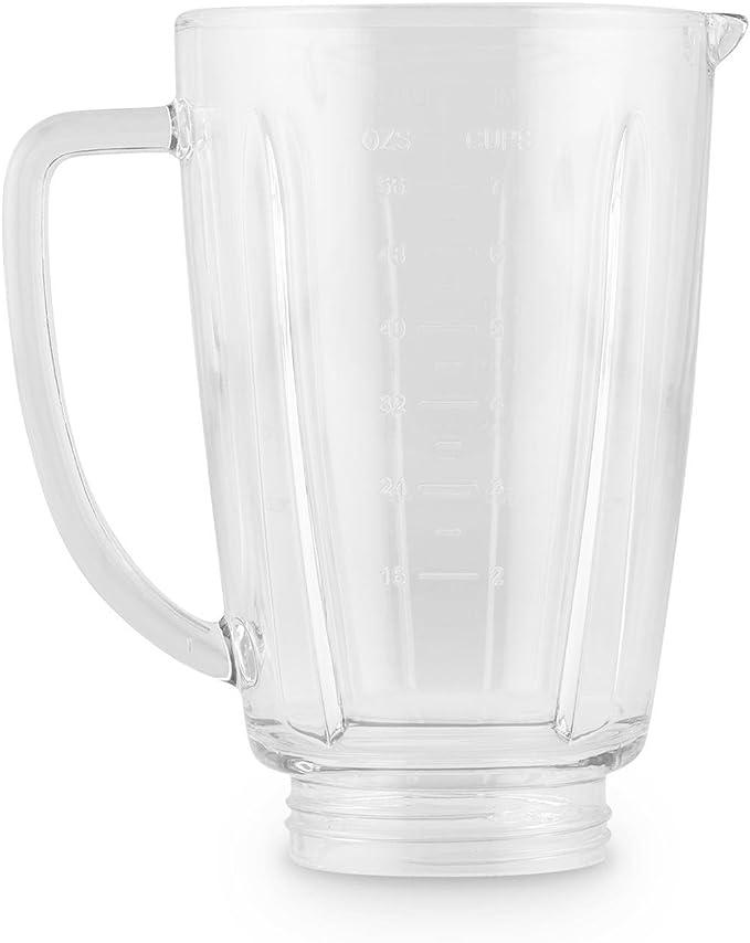 Klarstein Vaso de Recambio para batidora Herakles Steel 1,8 litros Cristal: Amazon.es: Hogar