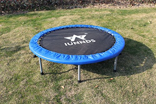"KLB Sport Indoor Foldable Trampoline for Age 8+, Fitness Trampoline for Adult (48"")"