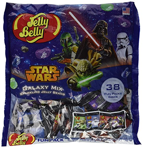 Star Wars Galaxy Mix Sparkling Jelly Beans - 38 Count 0.28 Ounce Bags]()