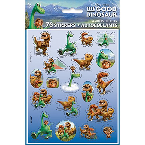 Good Ideas For Halloween (The Good Dinosaur Sticker Sheets, 4ct)