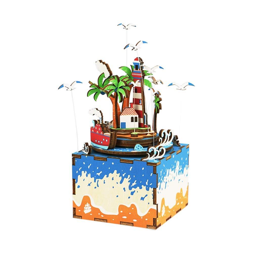 Caja de musica JT Madera Creative Box Regalo de los niños ...