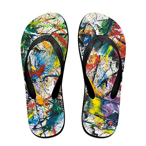 PTJHKET Men Kids Flops Flip Colorful for World Slippers The Women SPwSqp