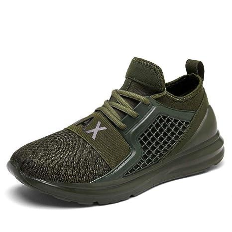 Zapatillas de Hombre, 2019 Primavera nuevos Hombres Extra Gran tamaño Zapatillas de Malla Transpirable Casual