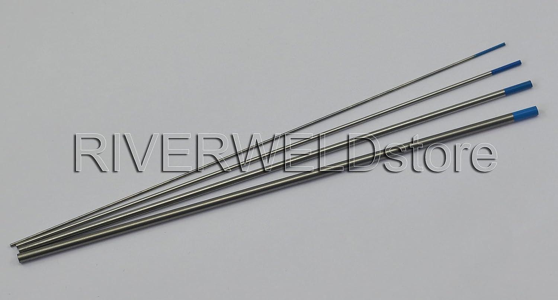 2/% Lanthaniert WIG Wolfram Elektrode WIG Spannh/ülsengeh/äuse f/ür WP-17 WP-18 WP-26 WIG Schwei/ßens Brennerhals 36pcs