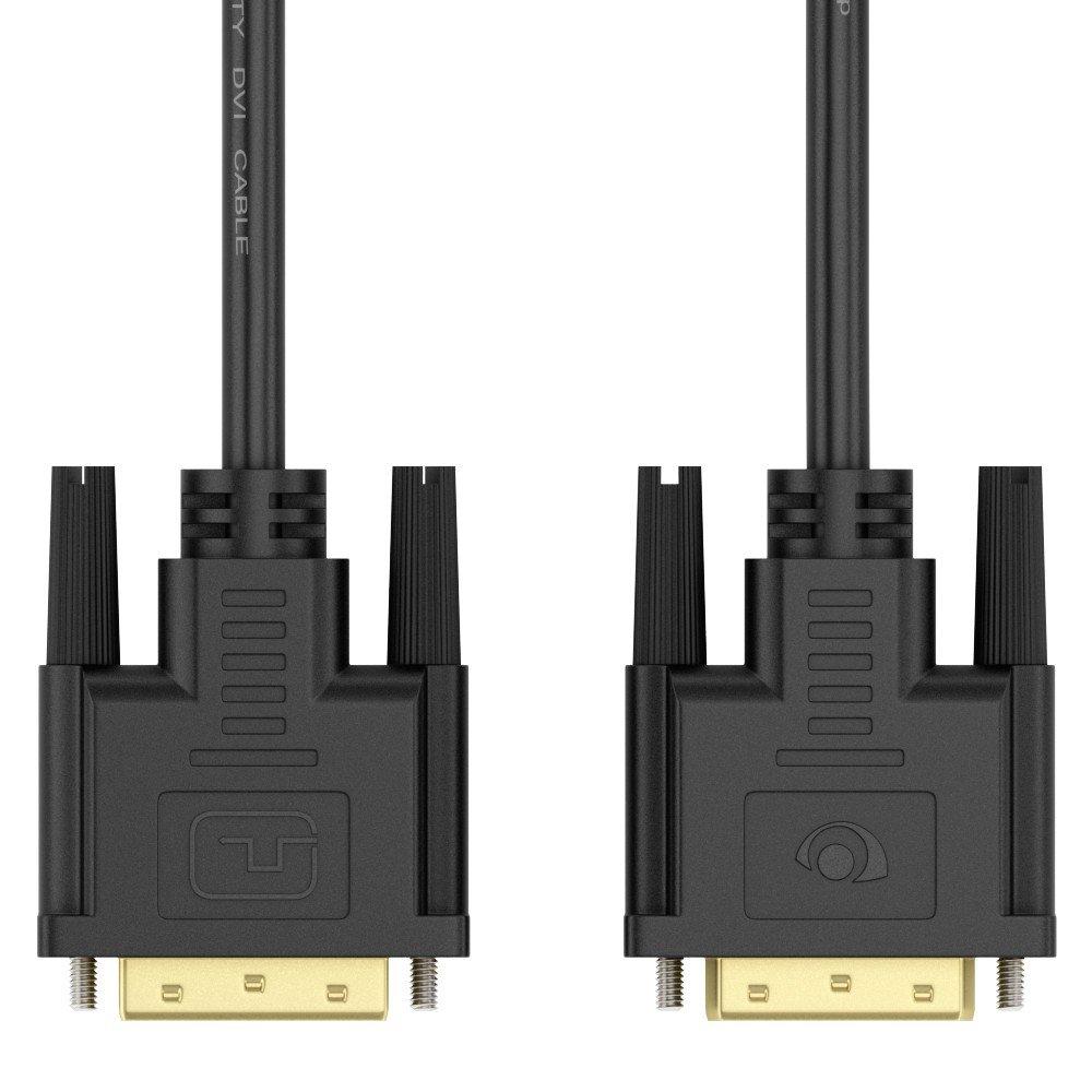 5m Full HD DVI zu DVI Kabel von NALIA, Monitorkabel: Amazon.de ...