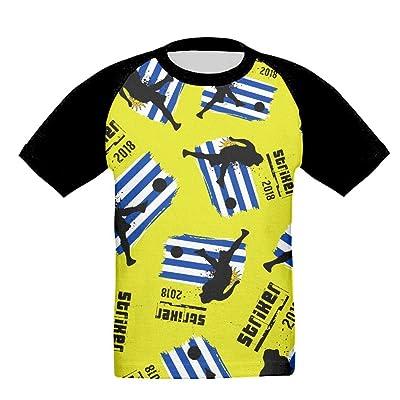 Fdhd Tshirt Uruguay See You 2018 Soccer Unisex Childrens Girl Raglan Shirts Casual Short Sleeve Tees Baseball T-Shirts