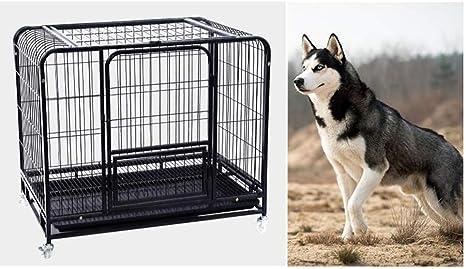 ZZQ Labrador Golden Retriever Jaula para Perros Jaula para Perros Grandes Negrita Reforzar Jaula para Perros Grandes Jaula para Mascotas Mediana para Perros Interior: Amazon.es: Deportes y aire libre