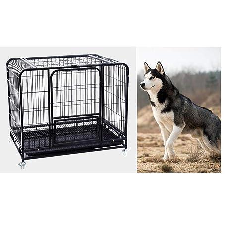 ZZQ Labrador Golden Retriever Jaula para Perros Jaula para Perros ...