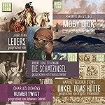 Abenteuer-Box | Herman Melville,Robert Louis Stevenson,Charles Dickens