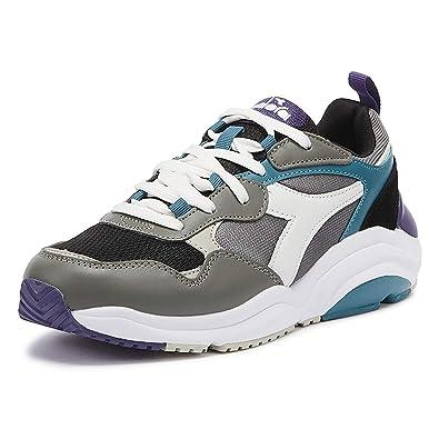 Diadora Whizz Run Uomo GrigioBlu Sneaker: Amazon.it: Scarpe