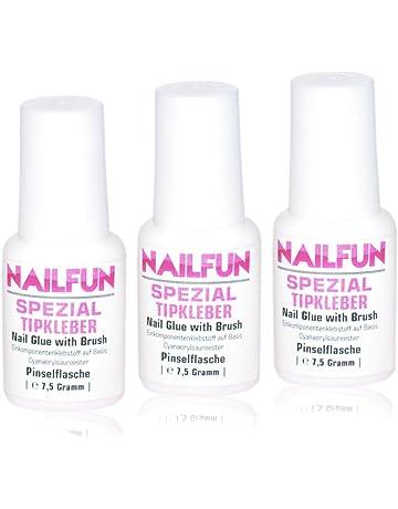 NAILFUN Pegamento Especial para Uñas 3 x 7,5 g